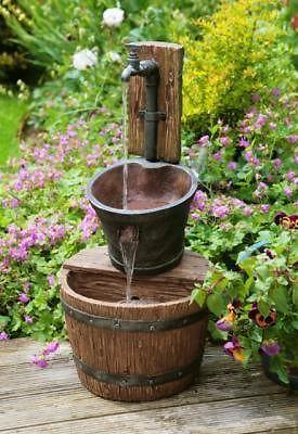 23 Fuentes de jardin caseras