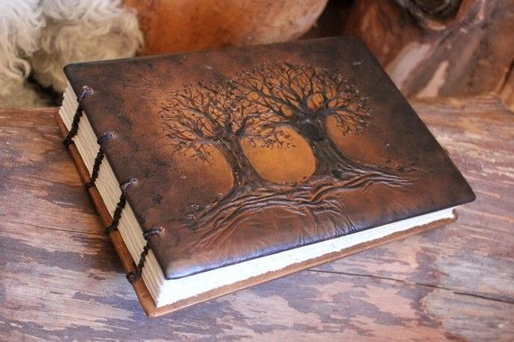 Wedding Guest Book Al With 2 Trees Of Life By Crearting On Etsy