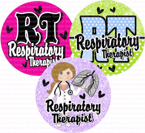 Respiratory Therapist 2 Bottle Cap Images 4x6 By Designsbypm