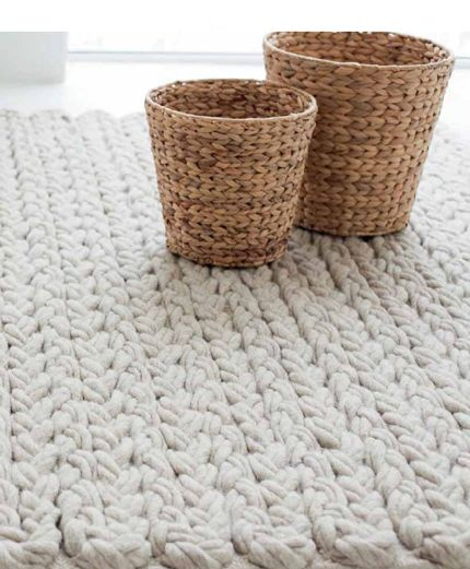 Shabby Teppich kuschel strick teppiche gan rugs via designchen коврики