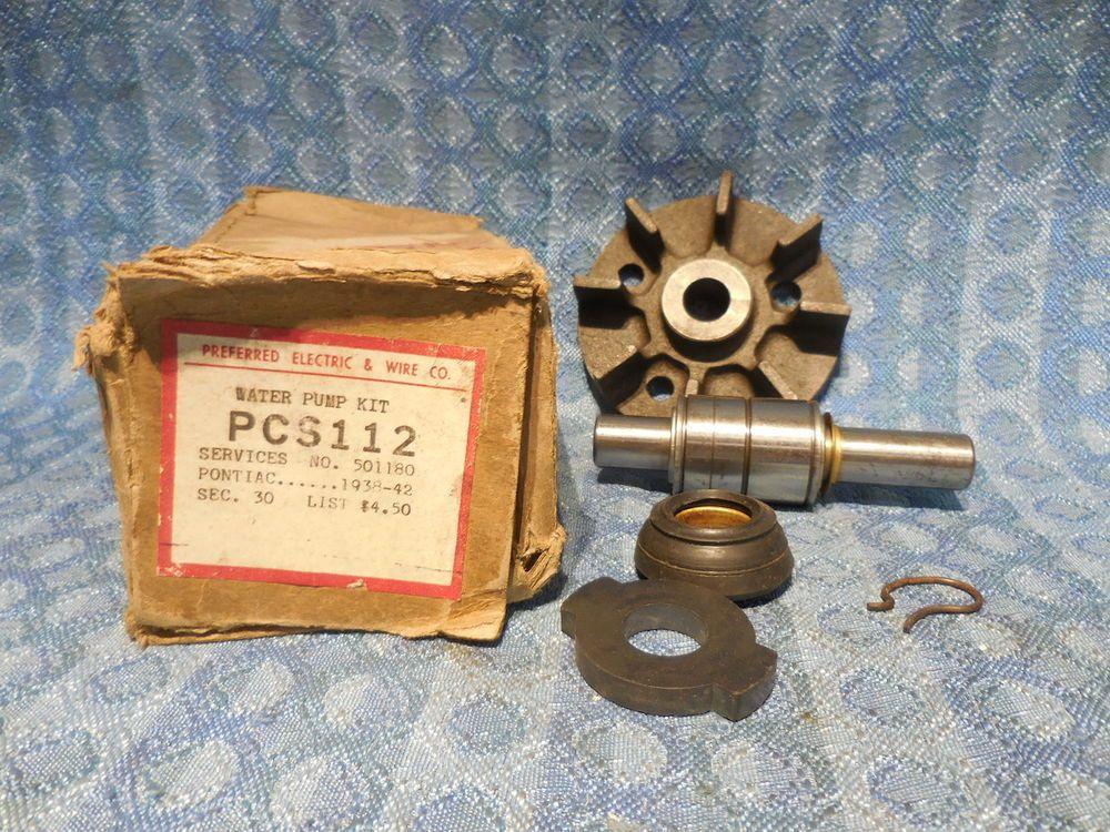 19381942 Pontiac 6 & 8 Cyl NORS Water Pump Repair Kit