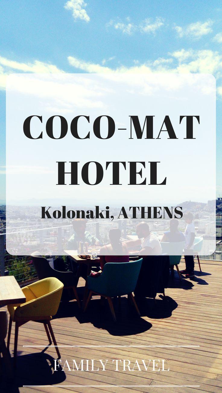Design Family Friendly Coco Mat Hotel Kolonaki Athens Family Travel Resorts For Kids Family Friendly Travel