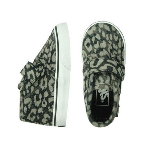 Vans Chukka V Black Leopard - mini mioche - organic infant clothing and kids clothes - made in Canada