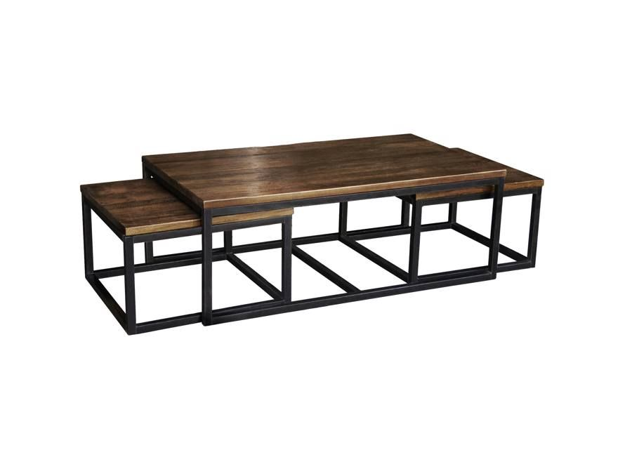 Palmer Nesting Coffee Table Arhaus Furniture In 2020 Nesting