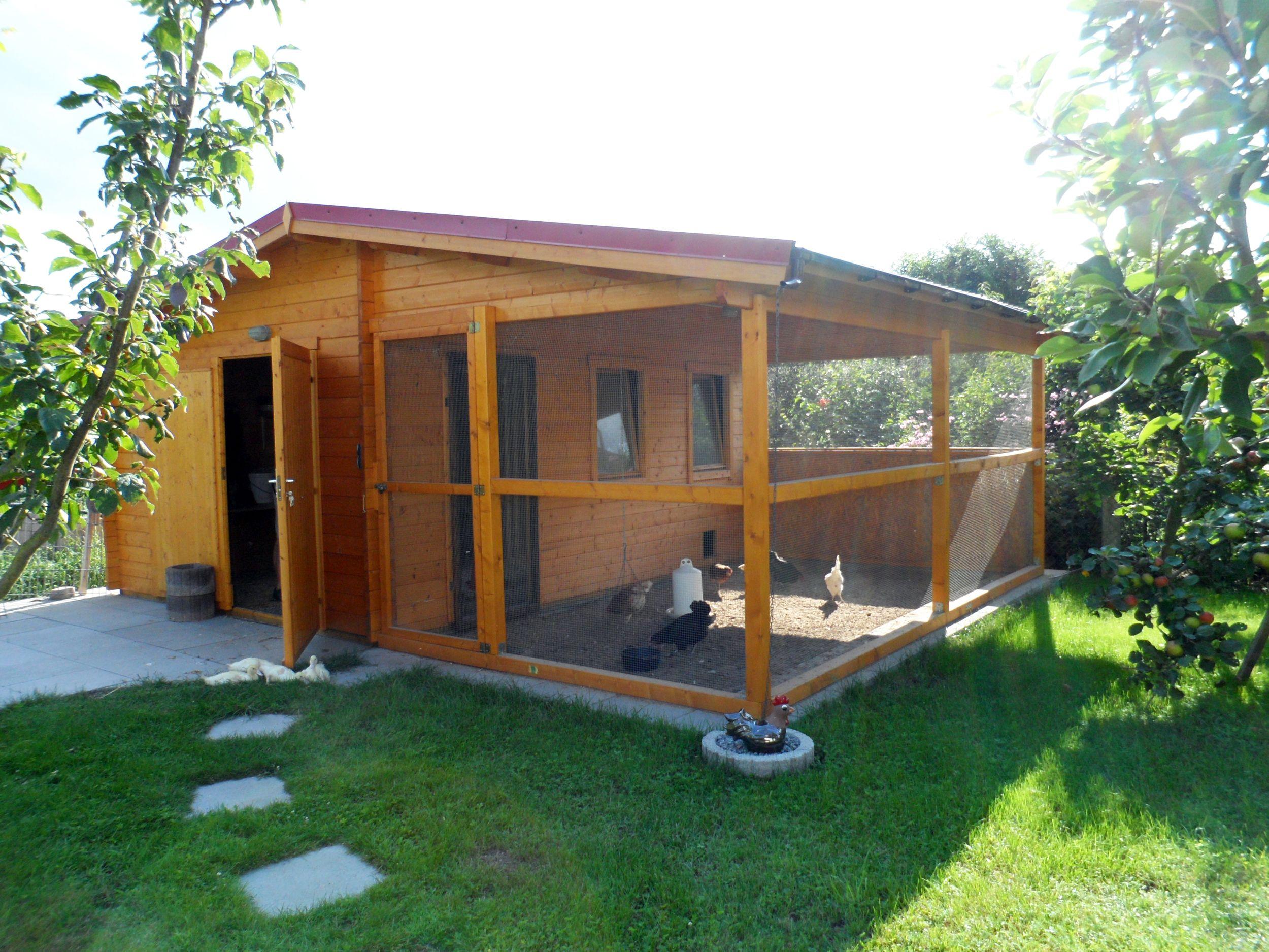 gartenhäuser mal anders: 4 ideen zur zweckentfremdung | hühner