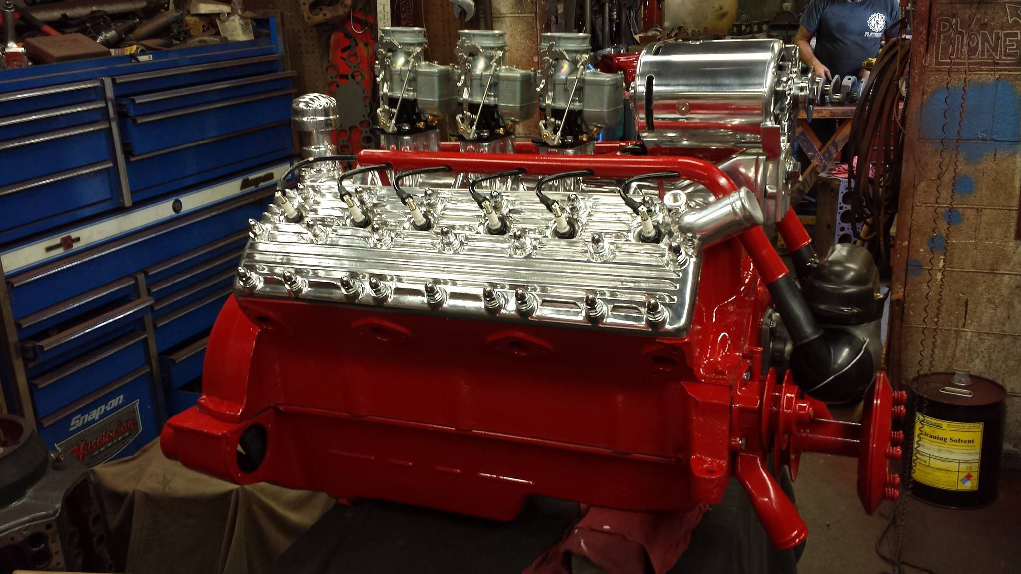 Lincoln V12 Engine Photo And Engine Build By H H