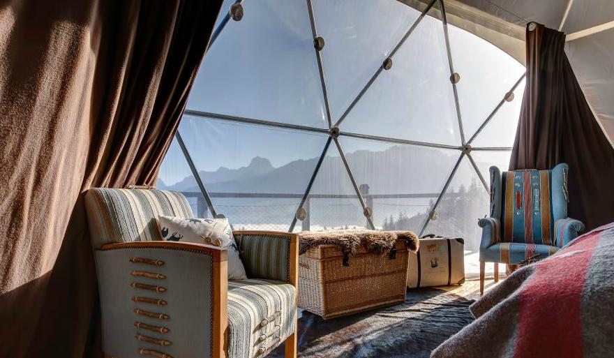 Whitepod Hotel, Switzerland Photographer: Vincent Hofer | Jean-Marc ...