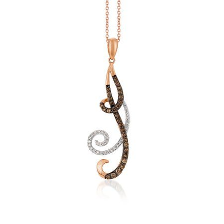 Pendant necklace with a jump ring attached to the bale, allowing for the design element to move