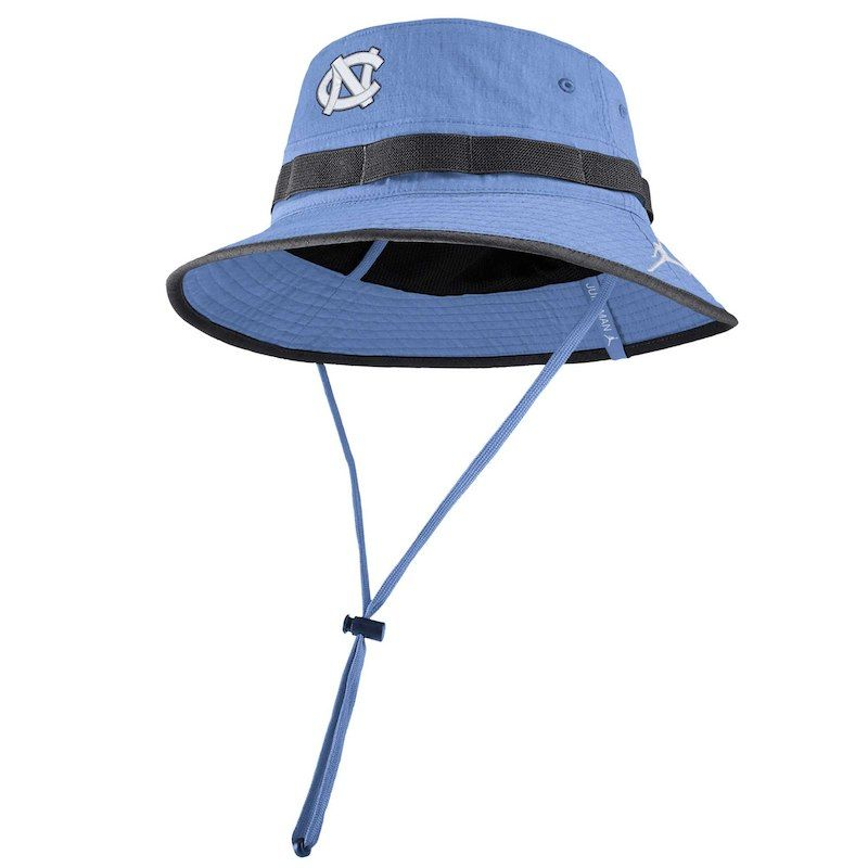 55c415df689 North Carolina Tar Heels Jordan Brand Sideline Performance Bucket Hat –  Carolina Blue