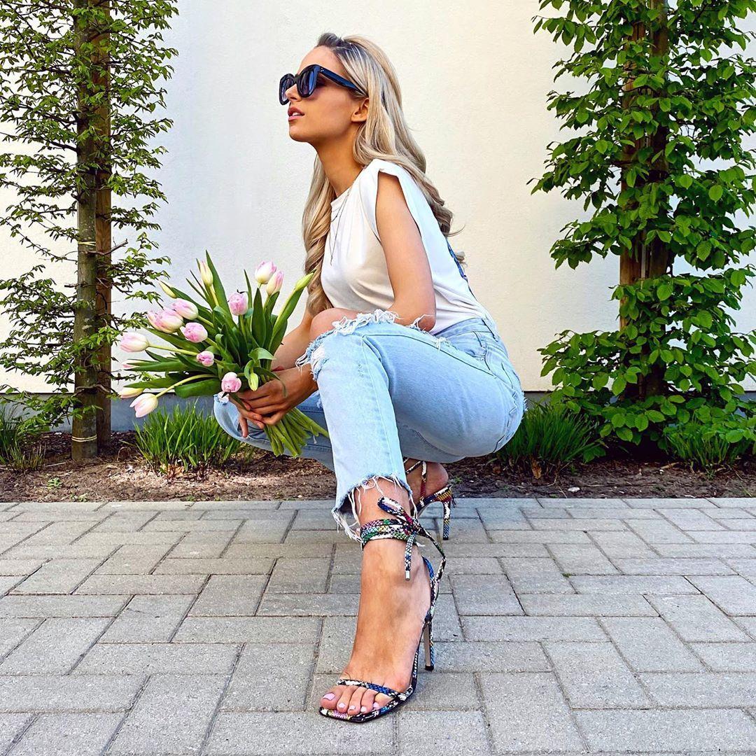 Steve Madden Women's fashion square heels overknee boots