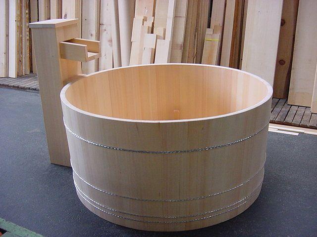 japanese hinoki wood soaking tub. original hinoki wood japanese bath tubs for soaking and aromatherapy