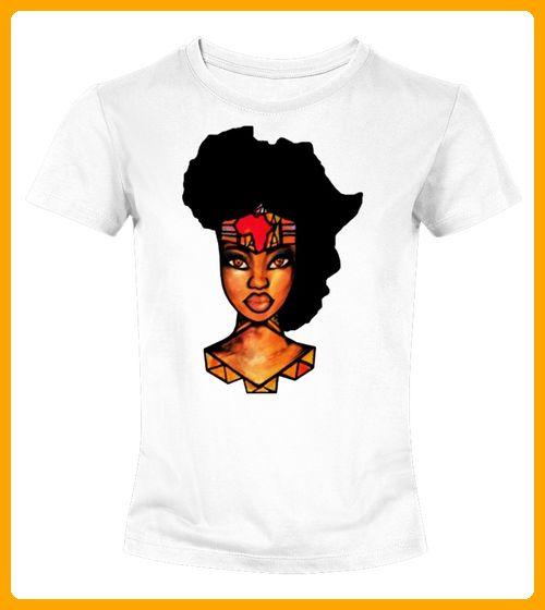 Afrocentric Hair Afro TShirt - Shirts für frau mit herz (*Partner-Link)