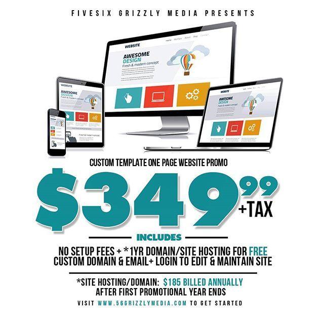 Bringing back my Budget Friendly One Page Website Deal #webdesign