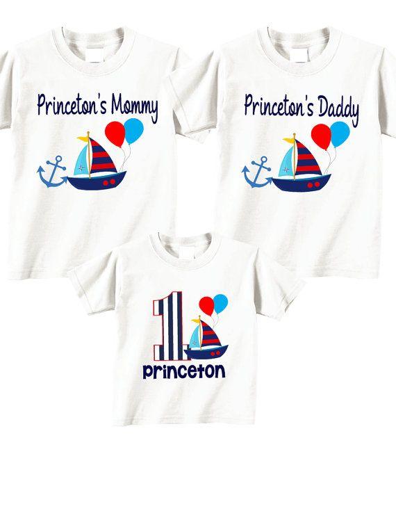 398d46db 3 shirt set Family Birthday Shirts, Birthday Boy Birthday Shirt Set ...