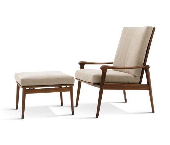 Denny Armchairs With Footrest Lounge Chair Design Armchair Furniture Armchair