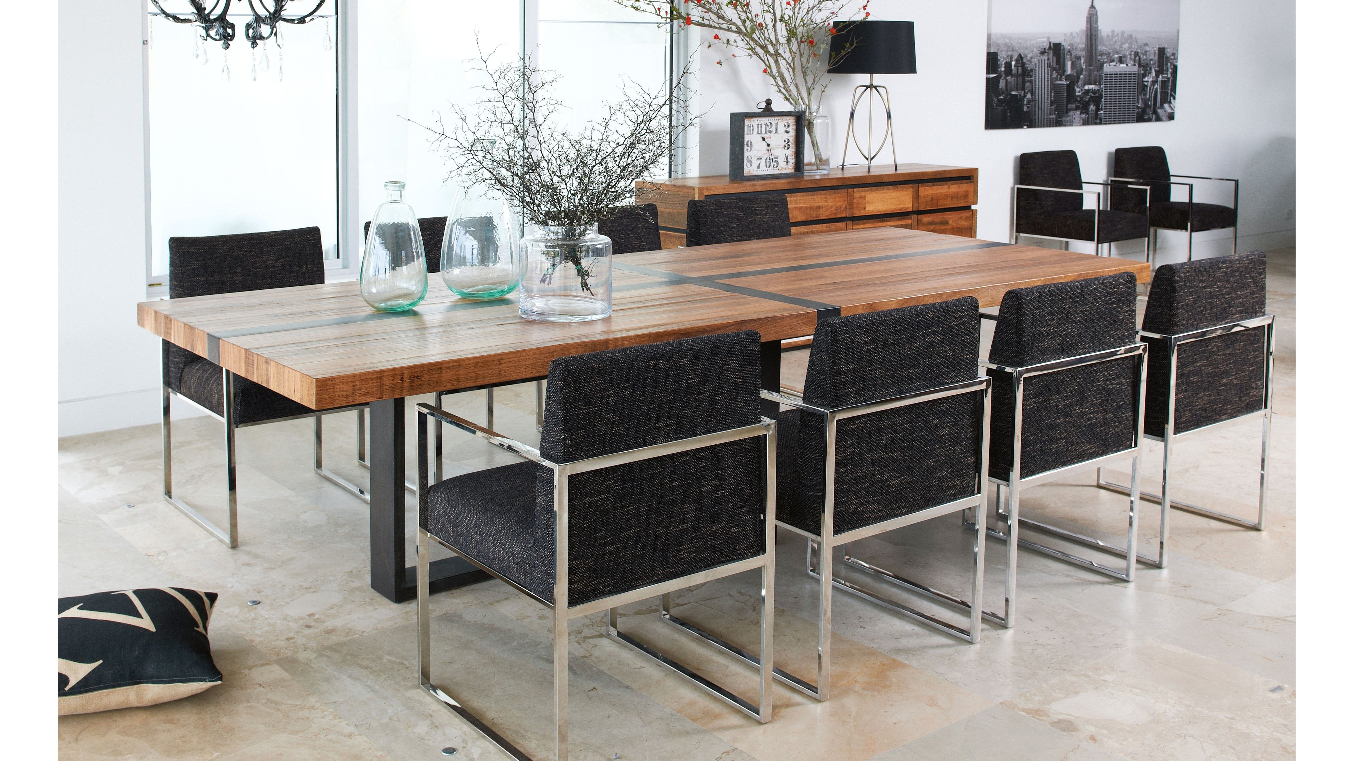 Brandon Table, Recycled timber, Made in Melbourne   Dining ...