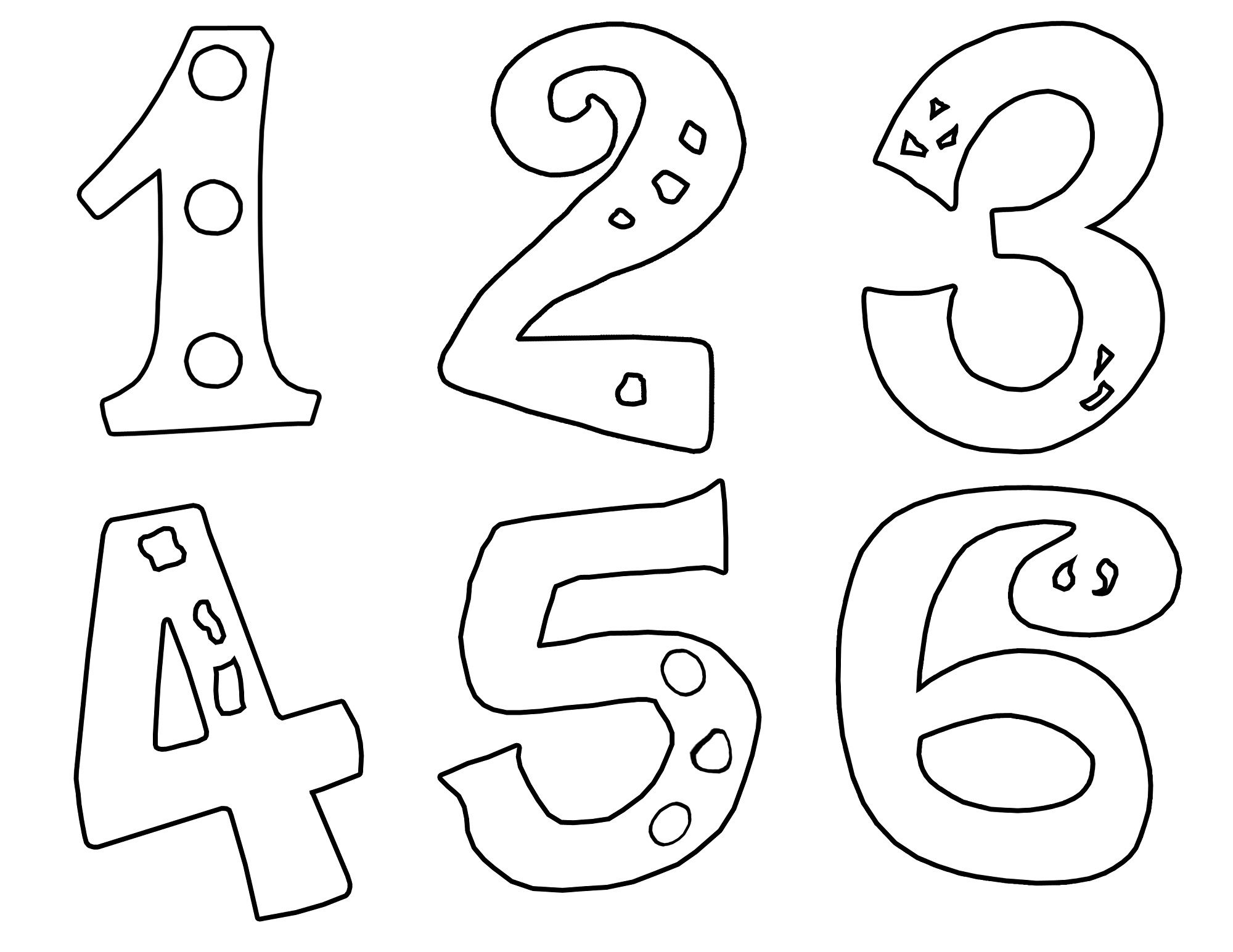 Number Color Pages for Kids | Activity Shelter | Coloring Pages for ...