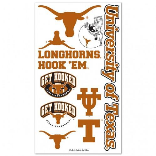 Texas Longhorns Easy To Use Tattoos In 2020 Longhorn Temporary Tattoos Texas Longhorns