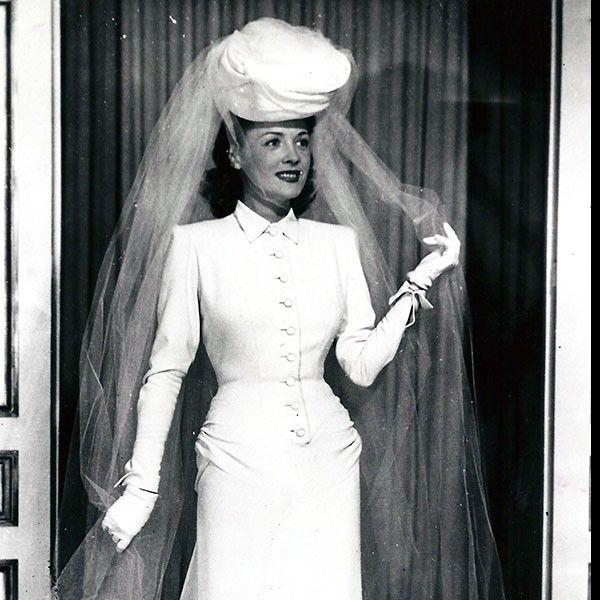 Lucien Lelong - Robe de mariée (1944)