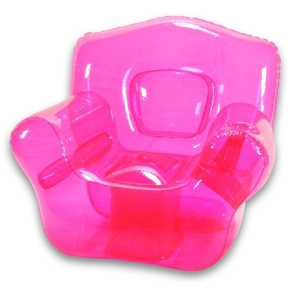 Inflatable bubble chair available in difrent colors
