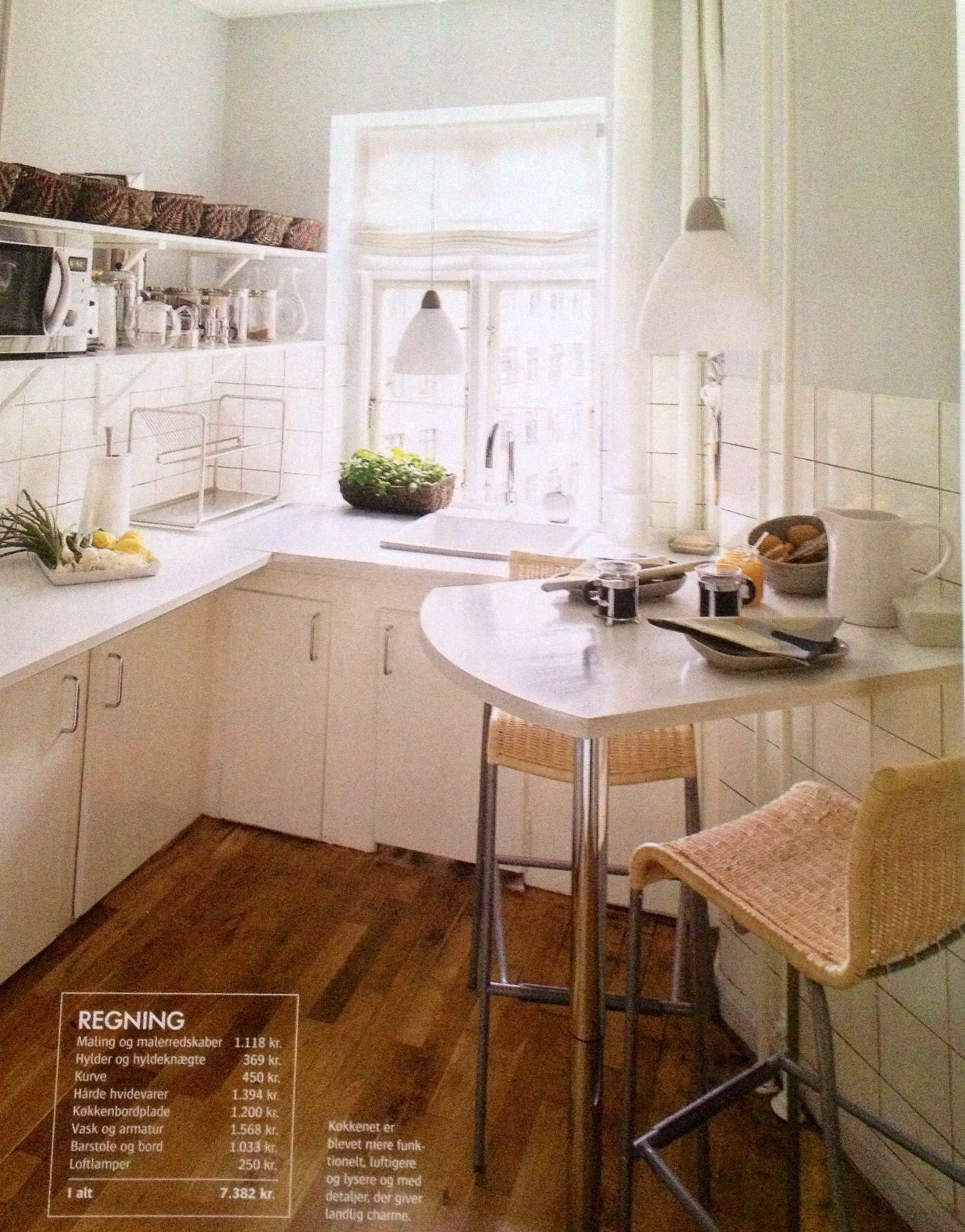 Hvidt Københavner køkken