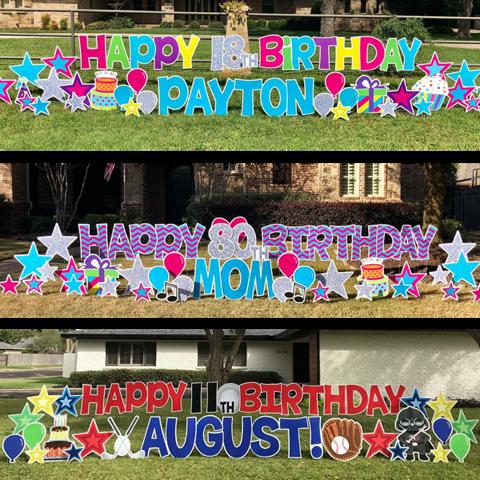 Card My Yard Home in 2020 Birth celebration, Cards, It