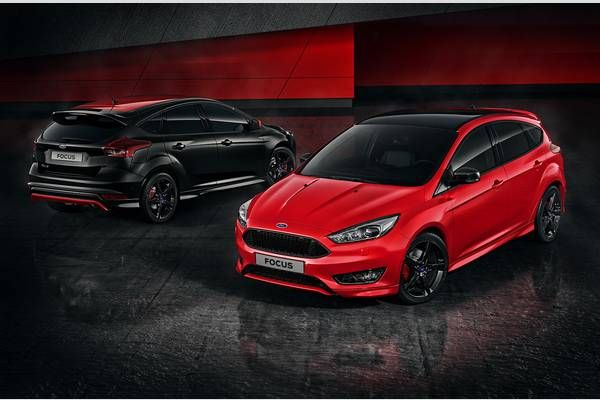 2016 Ford Focus Red And Black Edition Review Price Ford Focus Ford Black Edition
