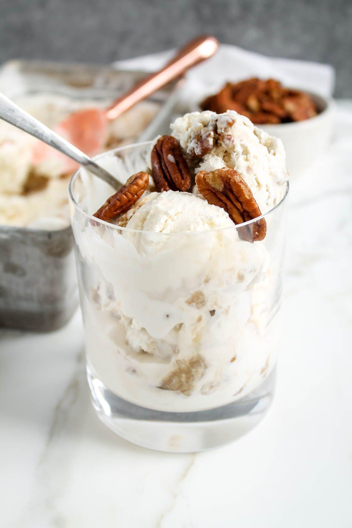 Buttermilk Praline Ice Cream Recipe Praline Ice Cream Easy Ice Cream Recipe Ice Cream
