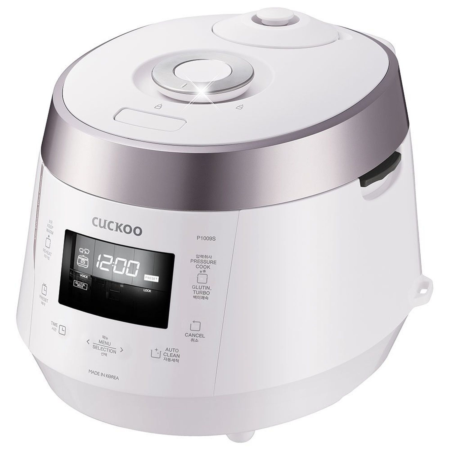Cuckoo CRPP1009S White 10Cup Electric Pressure Rice
