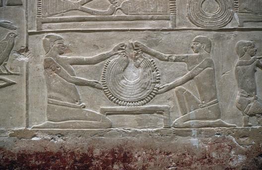 Saqqara. Mastaba of Vizier Mereruka. 6th Dynasty. Ancient Egypt.
