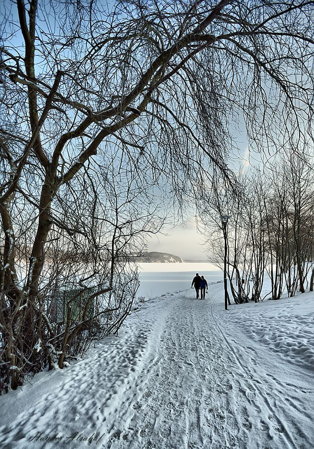 Nieve paseo