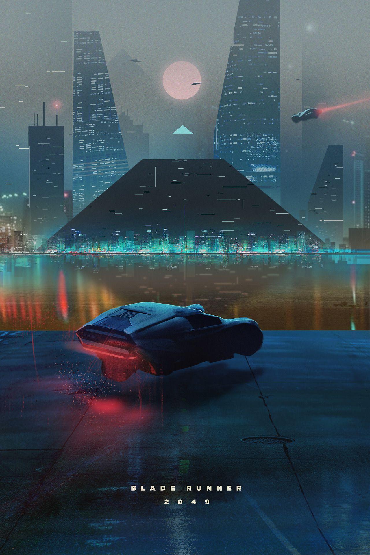 Blade Runner 2049 My Insta Al Mabb Blade Runner Movie Poster Art Cyberpunk Art