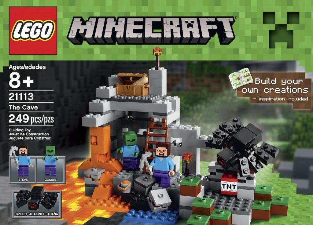 Amazon: **HOT** LEGO Minecraft The Cave ONLY $4.28!!! {reg. $16.89 ...