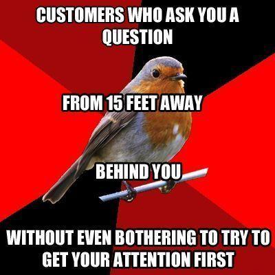 Memes  #retail #robin #manager retail robin manager retail robin meme customer