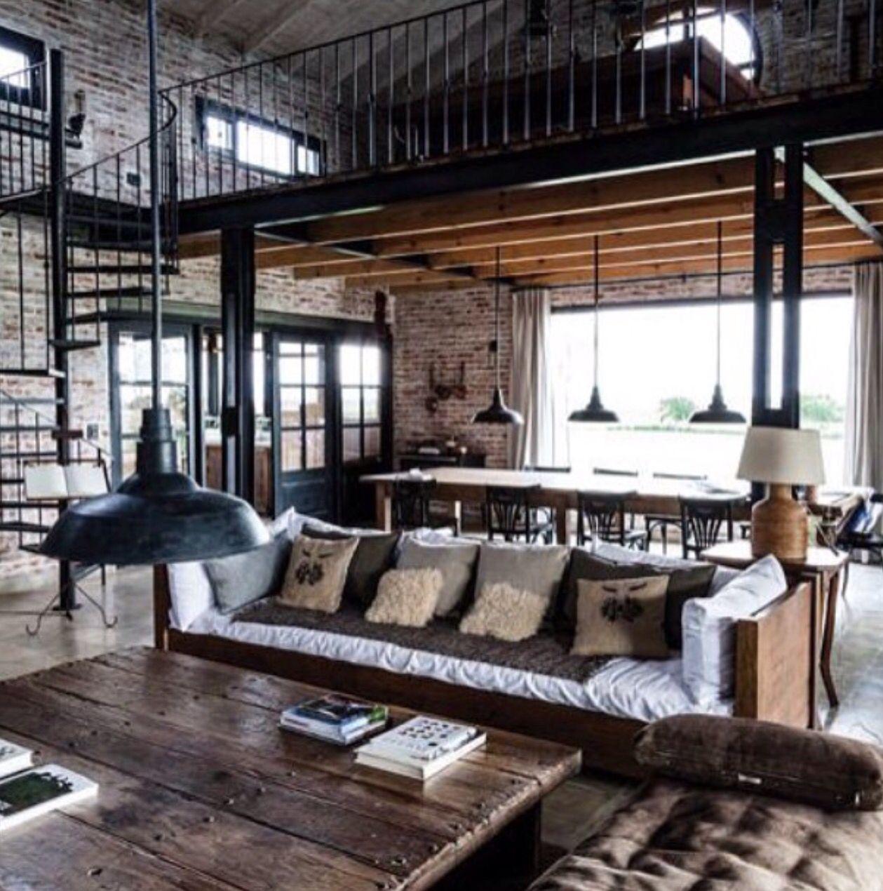 Industrial Home Design Spectacular Modern Industrial Home: Pin De Geraldo Pagliarini Em Loft