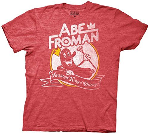 Ferris Buellers Day Off Abe Froman Mens Heathered Red T-shirt XL - http://kooltshirts.com/ferris-buellers-day-off-abe-froman-mens-heathered-red-t-shirt-xl/