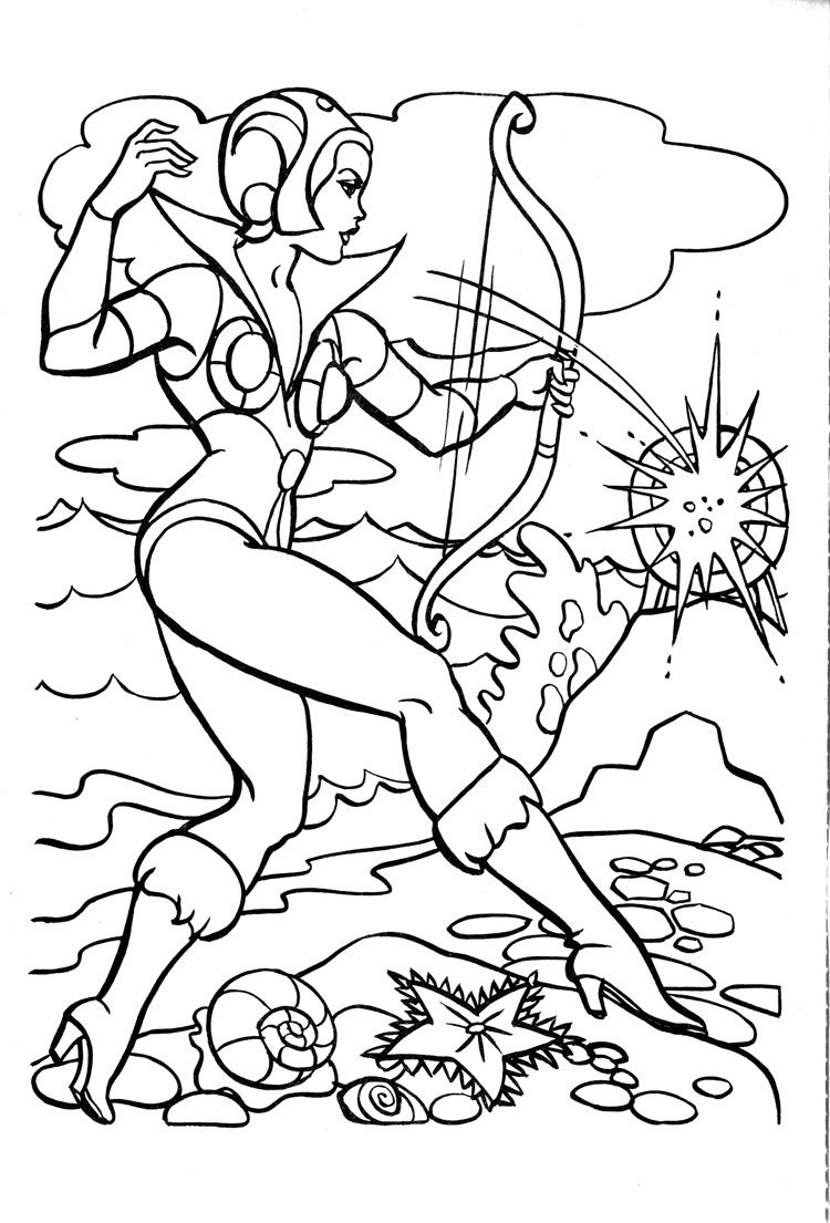 James Eatock Presents: The He-Man and She-Ra Blog!: Coloring book #3 ...