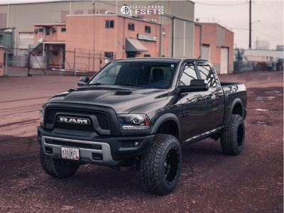 2016 Ram 1500 Fuel Hostage Toyo Open Country A T Ii Lifted Trucks Lifted Ford Trucks Vintage Trucks