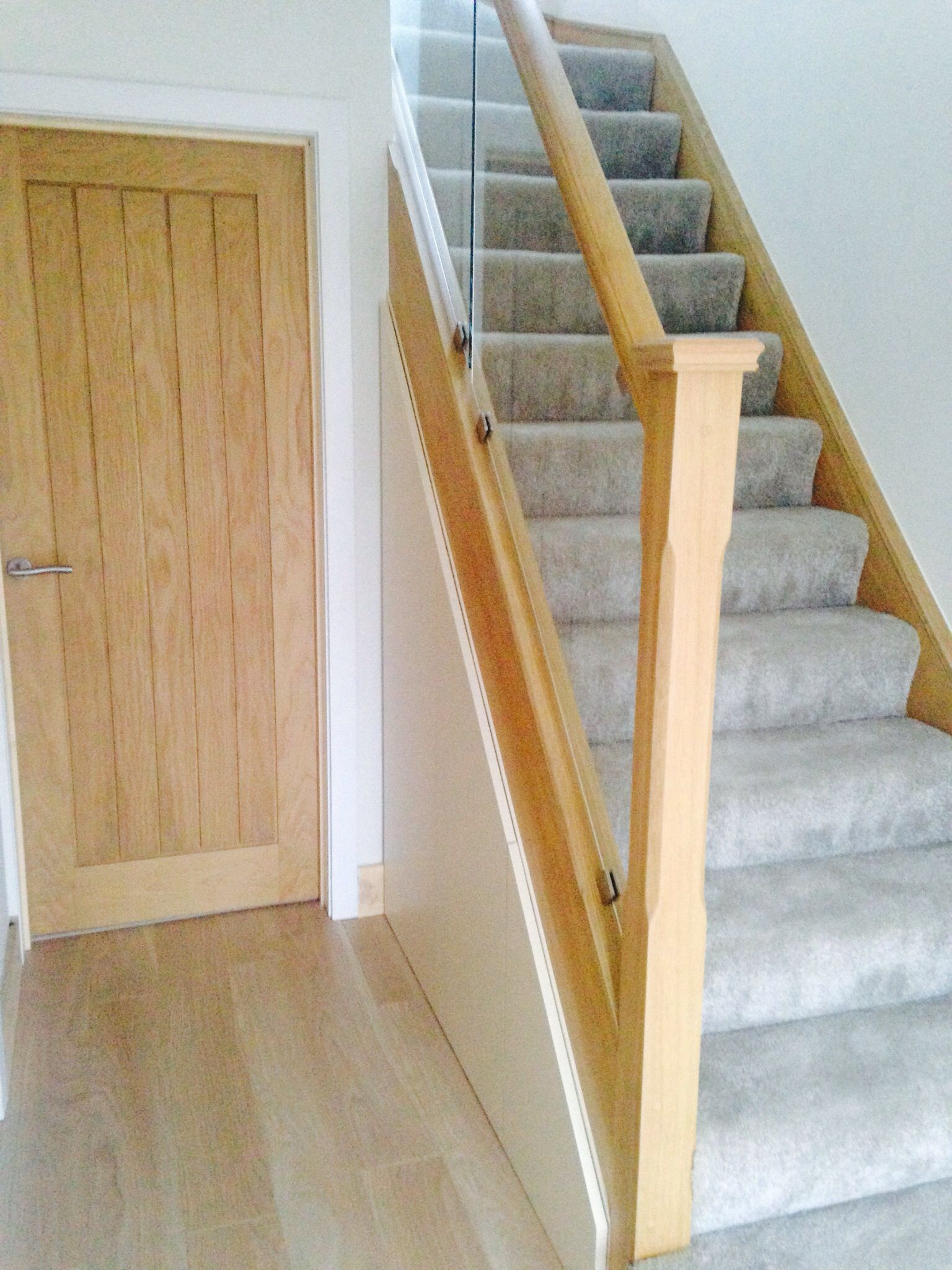 Best Glass Panelled Staircase Glass Staircase House 400 x 300