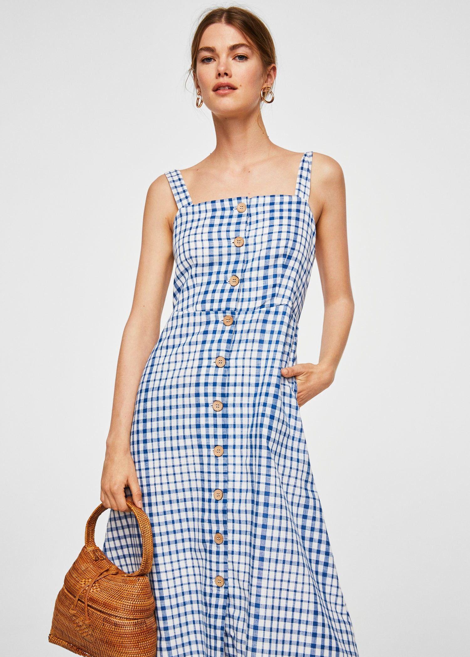 2151726aeca Mango Vichy Check Dress - Women | 6 | Products | Dresses, Check ...