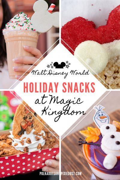 All the New Holiday Snacks at Magic Kingdom! Walt disney World disney Snacks #disneysnacks #christmassnacksatdisney #disneychristmas