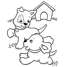 Top 30 Free Printable Puppy Coloring Pages Online Coloring Pages
