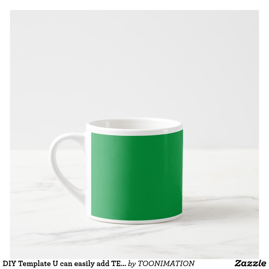 DIY Template U can easily add TEXT IMAGE photo Espresso Cup | 101 ...