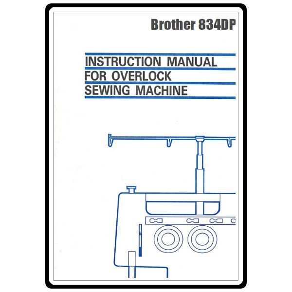 Instruction Manual, Brother 834DP Crafty Pinterest Crafty - instruction manual template