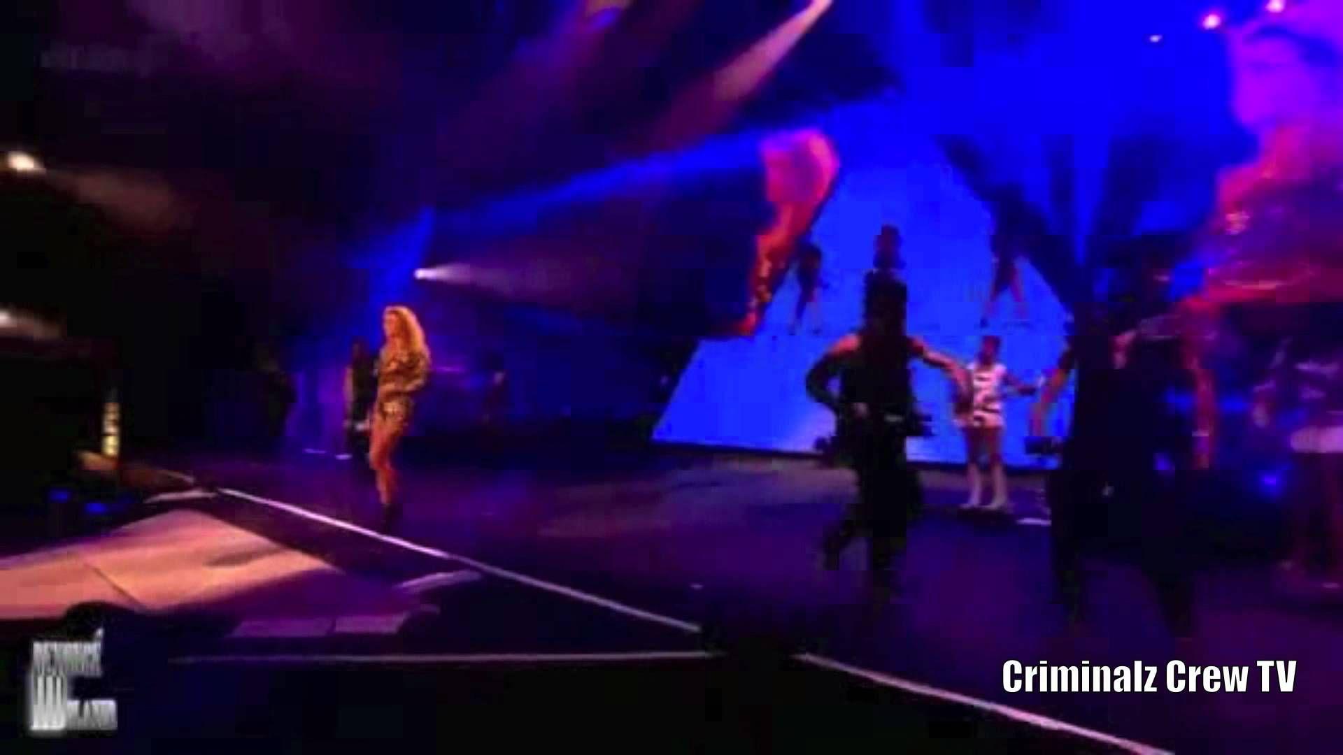CCTV : Les Twins ( Criminalz ) performing with Beyonce