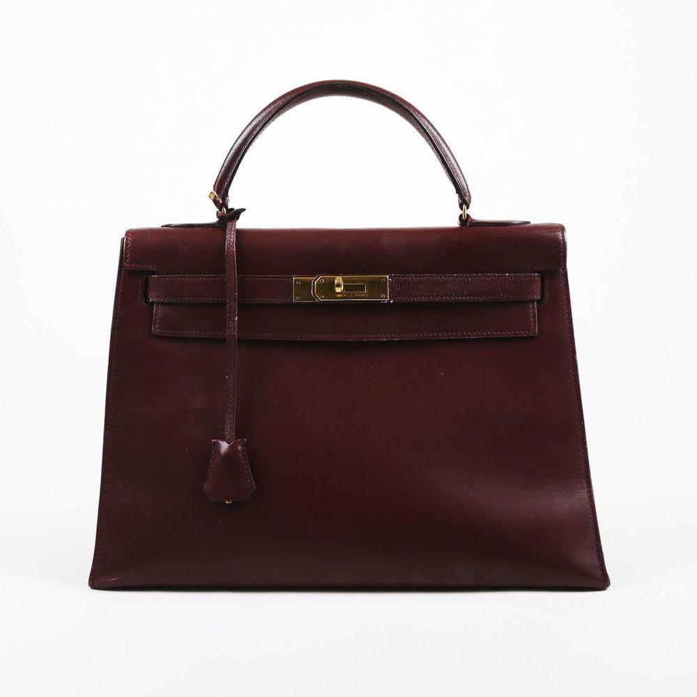 3ba9b94249e1 Hermes 40cm Etain Togo Leather Palladium Plated Kelly Retourne Bag  Hermes   EverydayBags