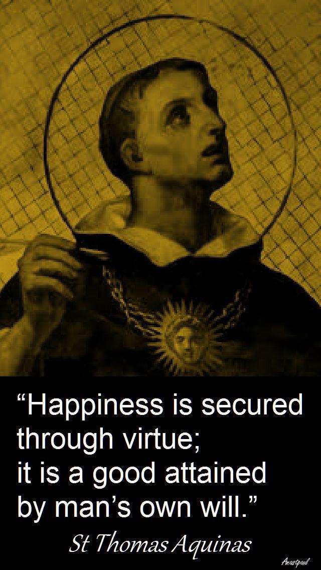 St. Thomas Aquinas - \