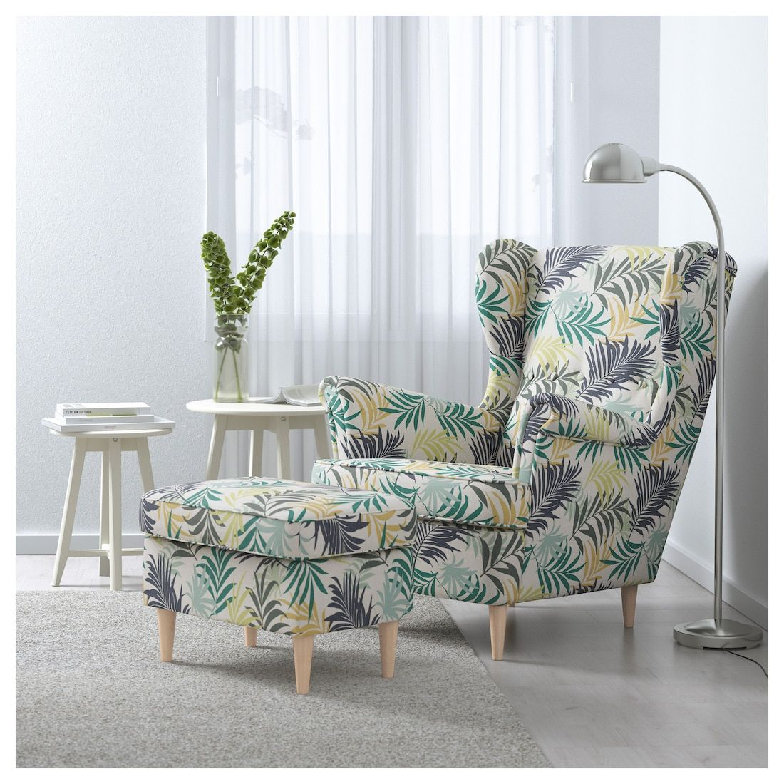 Strandmon Sillon Orejero Gillhov Multicolor Ikea Wing Chair Ikea Strandmon Ikea Chair