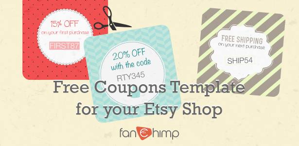 how to create coupon codes on etsy   22 coupon templates