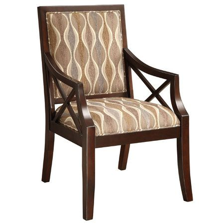 Touch Of Class: Kasia Upholstered Wooden Accent Chair K899 001